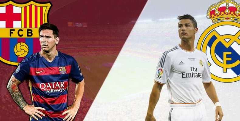 Барселона — Реал Мадрид. Матч 3 декабря 2016 года.