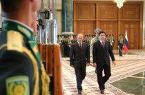 Путин и Аркадаг: визит президента в Туркменистан поразил контрастами