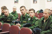 Из Юнармии — в армию взрослую