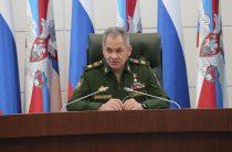 Шойгу: Россия начала формировать постоянную группировку в Тартусе и Хмеймиме