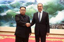 Ким Чен Ын поблагодарил Лаврова за противостоящую США Россию