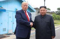 Во время встречи Трампа и Ким Чен Ына случилась неприятность