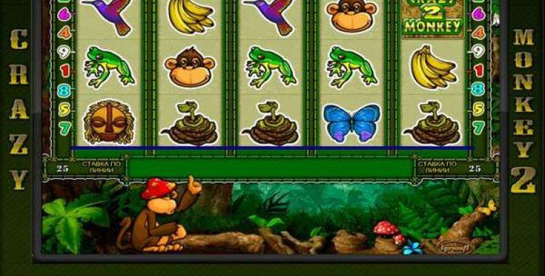 Игровой автомат «Crazy Monkey 2». Эволюция популярности в казино Вулкан
