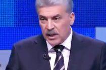 Базар и крики: Грудинин со скандалом покинул дебаты на Первом