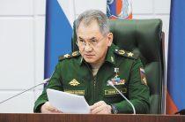 Сергей Шойгу рассказал про обострение на западных границах России