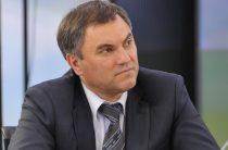 Володин предложил уголовно преследовать соблюдающих западные санкции в России