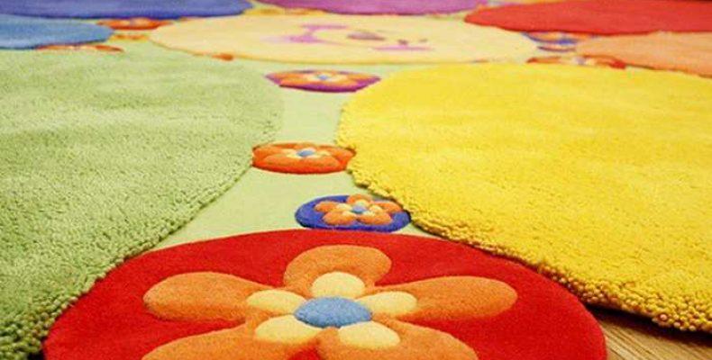 Детские ковры различных фактур и расцветок