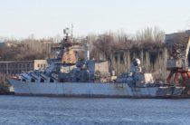 СБУ пустила в дело ржавый крейсер «Украина»