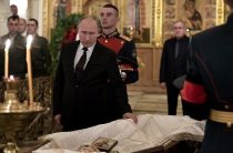 Путин простился со Станиславом Говорухиным