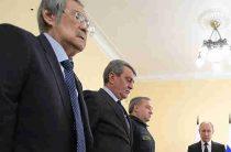 Тулеев извинился перед Путиным за пожар в Кемерово: «Спасибо великое»