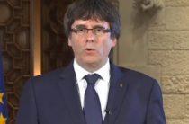 Пучдемон призвал жителей Каталонии к сопротивлению