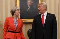 Мэй проведет переговоры с Трампом за пределами Лондона