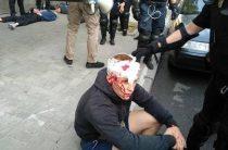 В Киеве националисты атаковали геев и полицию