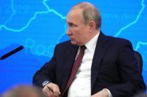 Путин пошутил о военной службе Наполеона в Москве