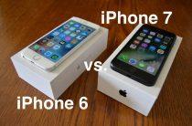 Сравнение iPhone 6 с iPhone 7