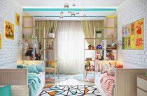 Игровая детская комната – это особое место в квартире.