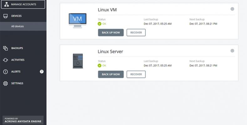 Резервное копирование серверов Linux