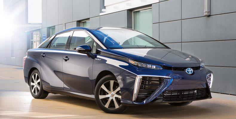 Начался серийный выпуск Toyota Mirai