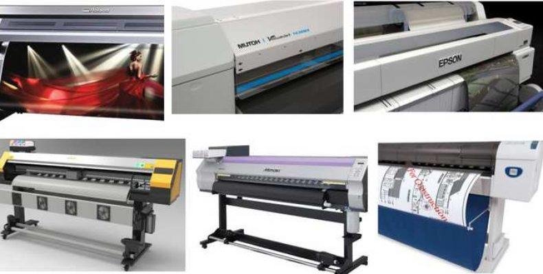 Сольвентный принтер. Что это и как работает?