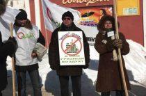 В Веневе прошел пикет против строительства цементного завода «Интеко»