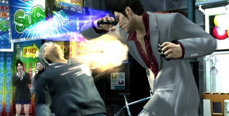 Игра от Yakuza — Кулак Северной Звезды